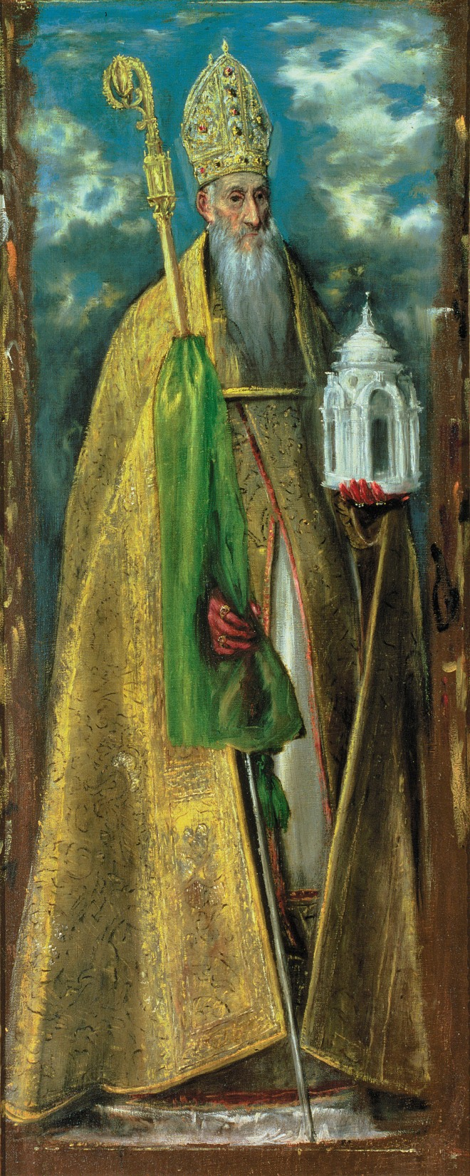 Saint Augustine of Hippo; painting by El Greco, 1590