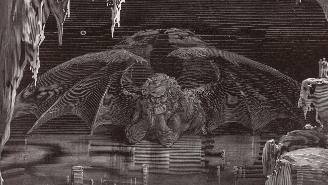 Illustration from Dante's Inferno