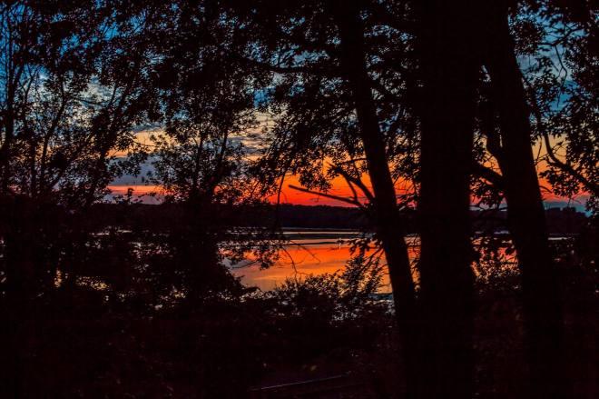 SunsetOnLake