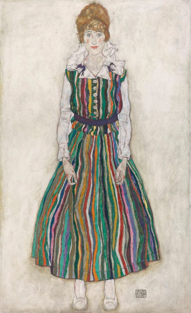 Arno Landewers‎20:21 century art & architecture Follow · 10 hrs · Egon Schiele, Portrait of Edith, 1915, collection Gemeentemuseum Den Haag.
