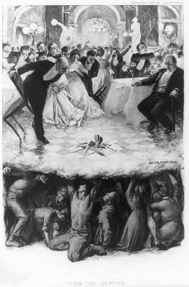 From the Depths - by William Balfour Ker (1906)