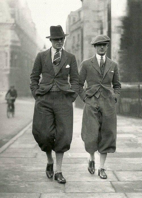 Fashions of the day. Cambridge Undergraduates 1926.
