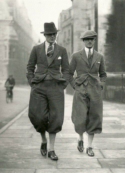 Fashions of the day. Cambridge Undergraduates 1926.