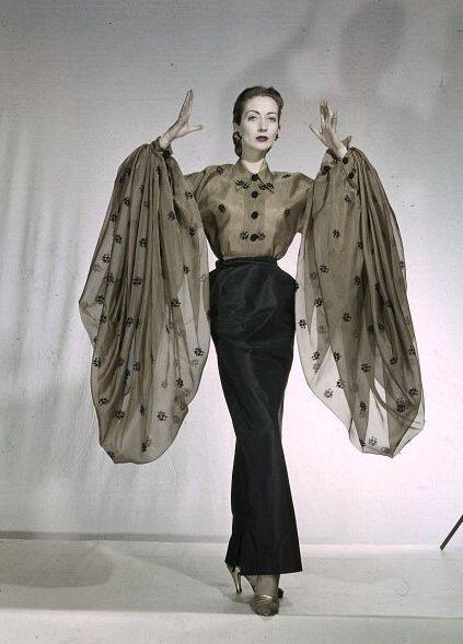Big Sleeves Day - Elsa Schiaparelli, 1950s