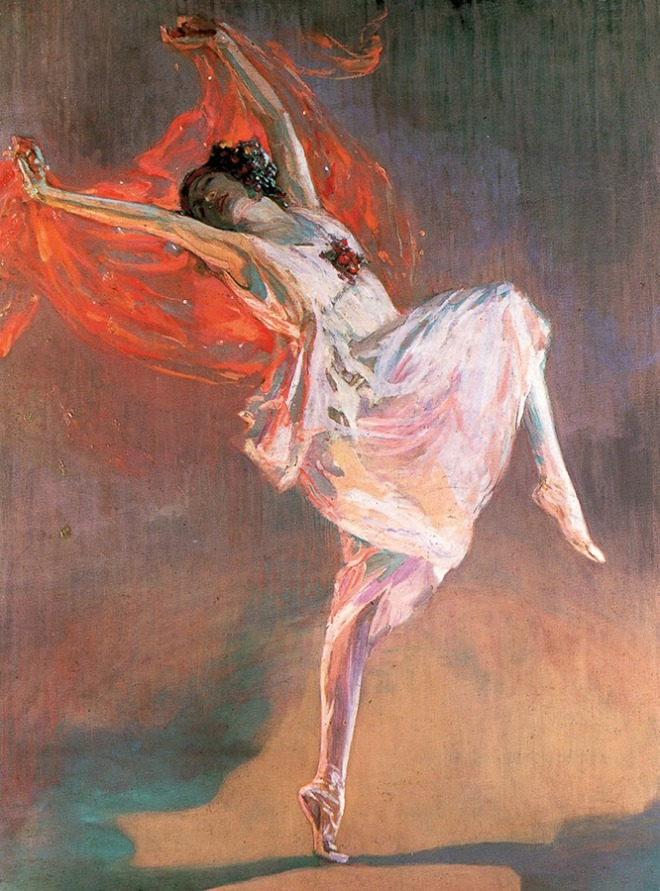 "Ravenous Butterflies 17 hrs · ""Freeing yourself was one thing, claiming ownership of that freed self was another."" Toni Morrison Sir John Lavery - Anna Pavlova as a Bacchante, 1911"