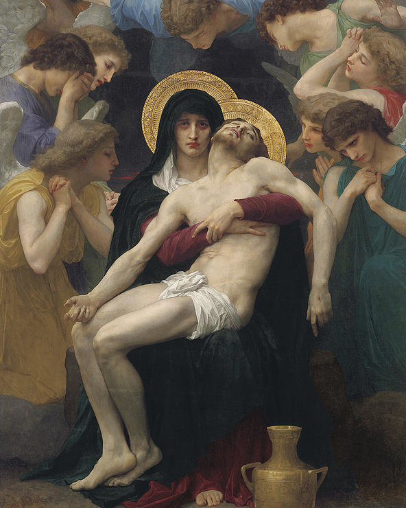 William-Adolphe Bouguereau, Mercy (partial), c. 1876, private collection