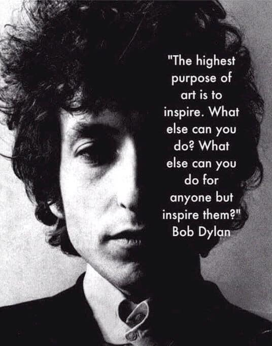 Psyche's Call with Donna May · 7 hrs · Happy Birthday to the great poet, musician, and imagineer, Bob Dylan (BTD in 1941)!