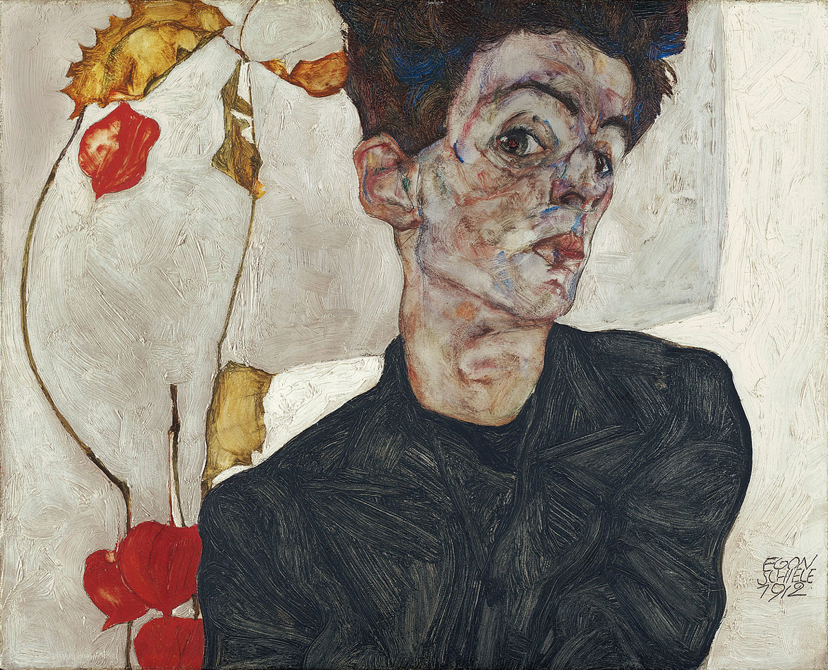 egonschiele_self-portrait1912