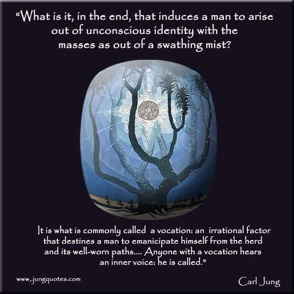 Psyche's Call with Donna May Page Liked · 6 hrs · Carl Jung